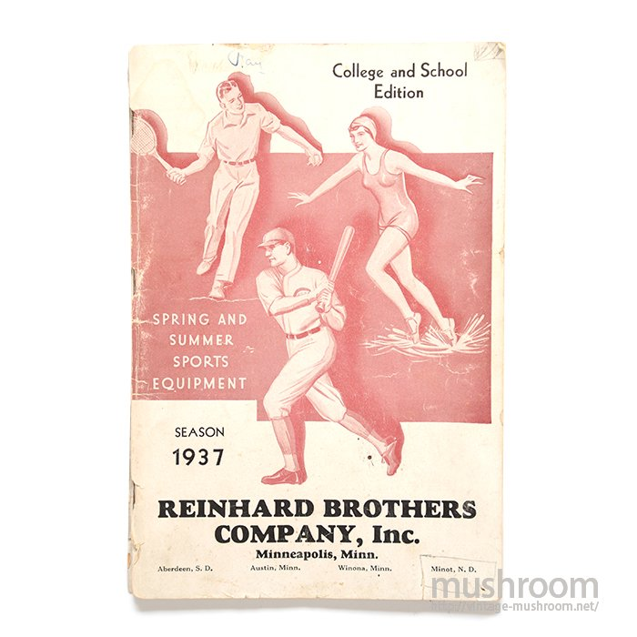REINHARD BROS SPRING&SUMMER ATHLETIC CATALOG