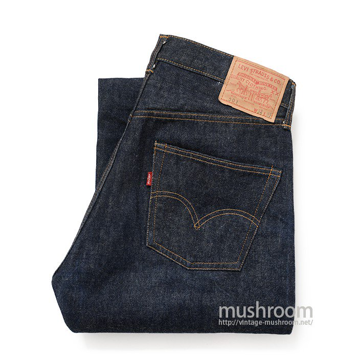 LEVI'S 501 BIGE Atype JEANS( ONE-WASHED/MINT )