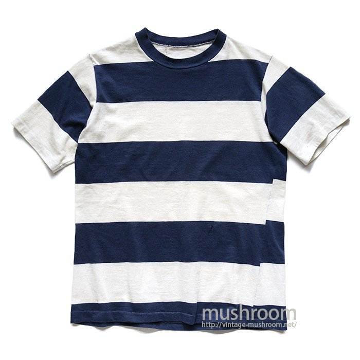 UNKNOWN WIDE BORDER  STRIPE T-SHIRT
