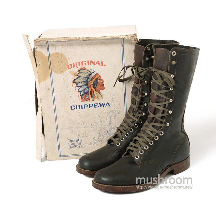 CHIPPEWA WORK BOOTS( 5/DEADSTOCK )