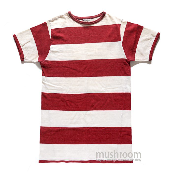 IMPERIAL GUAR WIDE BORDER  STRIPE T-SHIRT