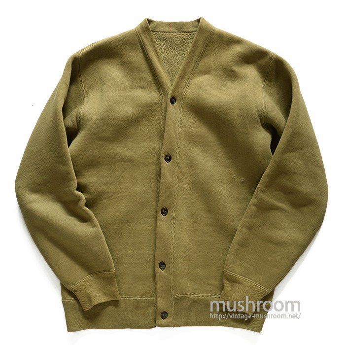 WW2 USMC SWEAT CARDIGAN( NONWASHED/USED )