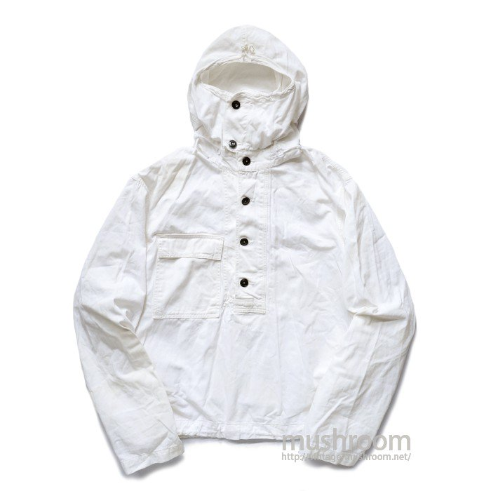 WW2 U.S.NAVY PULLOVER COTTON PARKA( L/WHITE )