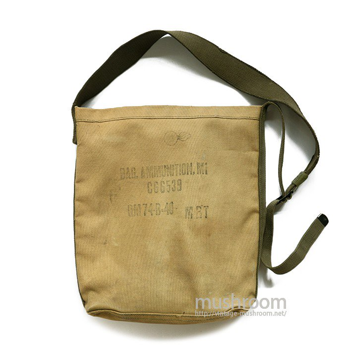U.S.MILITARY M-1 CANVAS SHOULDER BAG