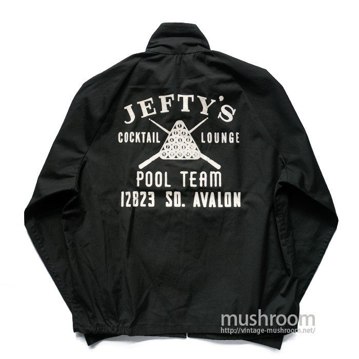 COLLEGIATE PACIFIC POOL TEAM JACKET( L/DEADSTOCK )