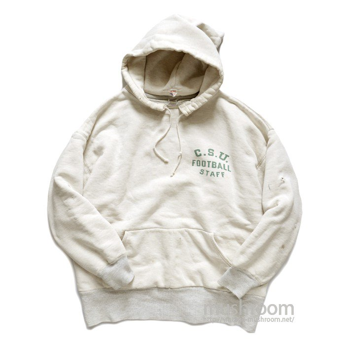 CHAMPION TWO TONE AFTER HOODY SWEAT SHIRT
