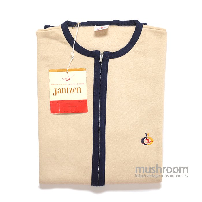 JANTZEN SHORT SLEEVE SWEAT SHIRT( M/DEADSTOCK )