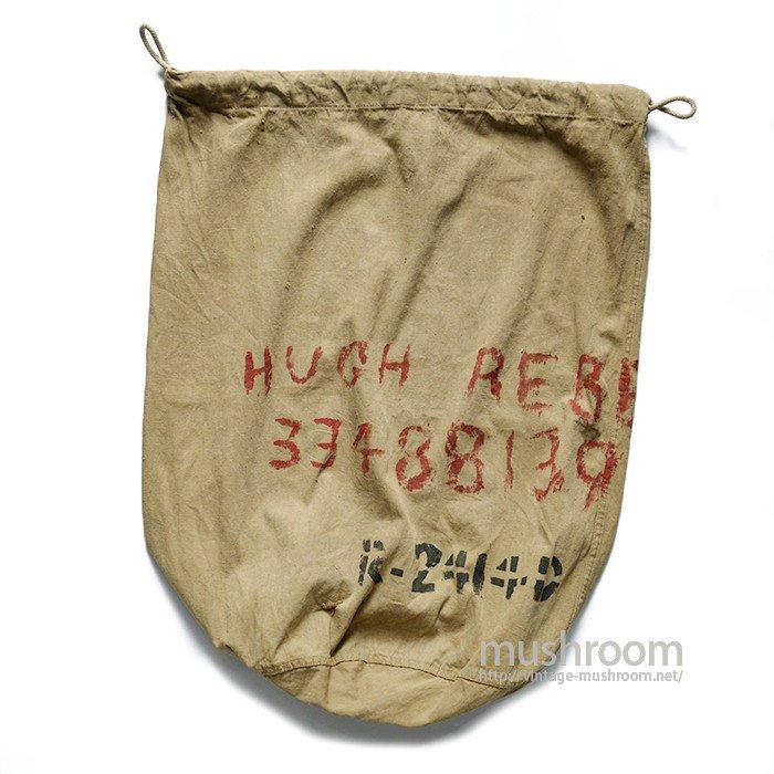 WW1 U.S.MILITARY COTTON BARRACKS BAG