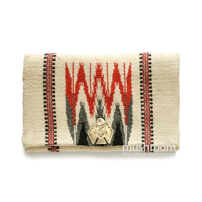 OLD HAND WOVEN CHIMAYO PURSE( MINT )