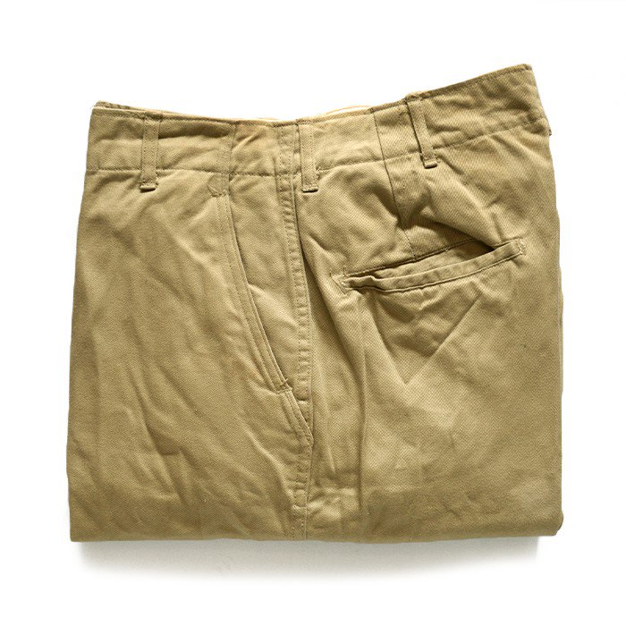 WW2 U.S.ARMY 45-KAHKI CHINO TROUSERS( W30L33/DEADSTOCK )