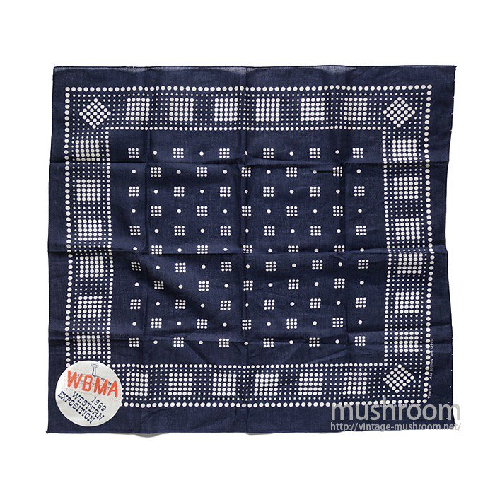 OLD POLKA DOT BANDANA( DEADSTOCK )