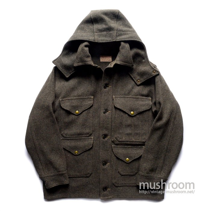 FILSON MACKINAW CLUISER JACKET WITH HOOD