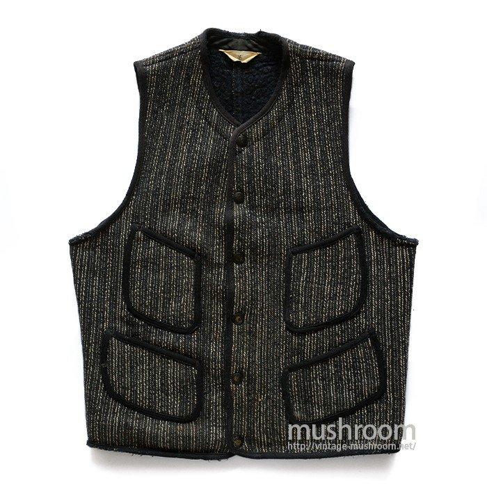 BROWN'S BEACH FOUR-POCKET STRIPE VEST