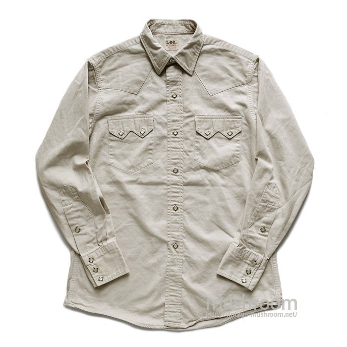Lee WESTERNER COTTON WESTERN SHIRT