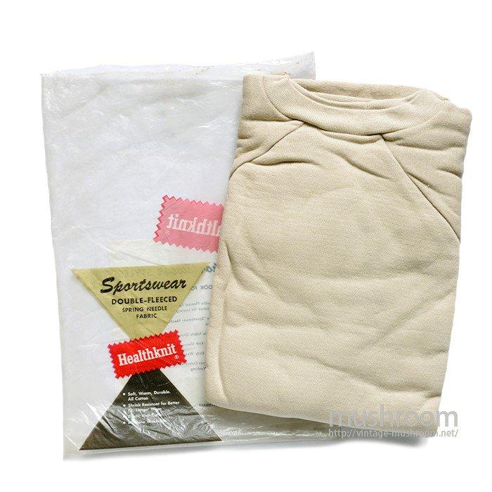 HEALTHKNIT SWEAT SHIRT( L/DEADSTOCK )