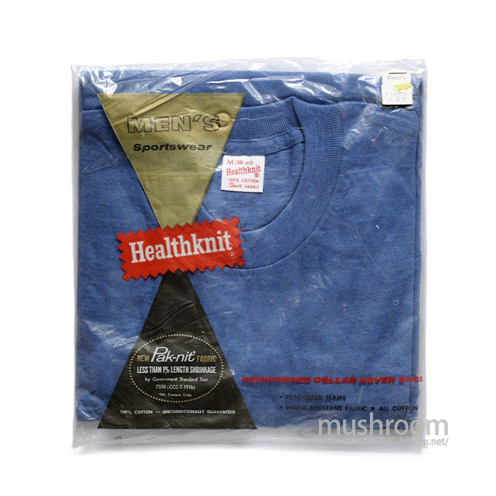 HEALTHKNIT PACK T-SHIRT WITH POCKET( M/DEADSTOCK )