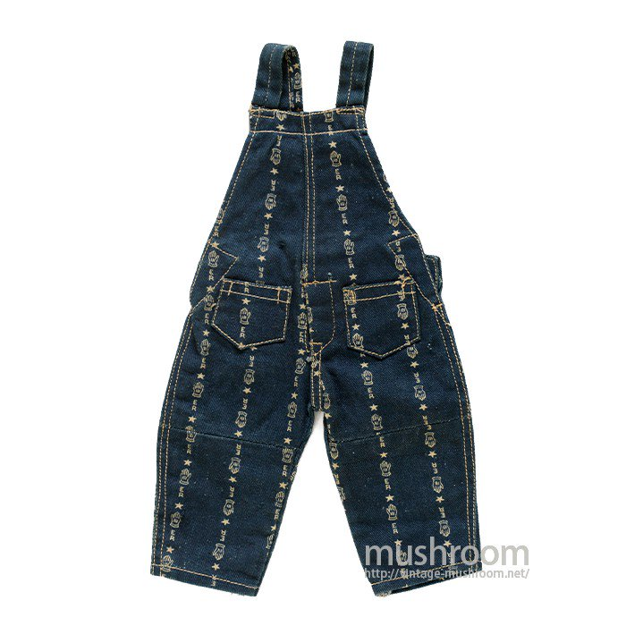 ERIE RAILROAD OVERALLS SALESMAN SAMPLE( DEADSTOCK )