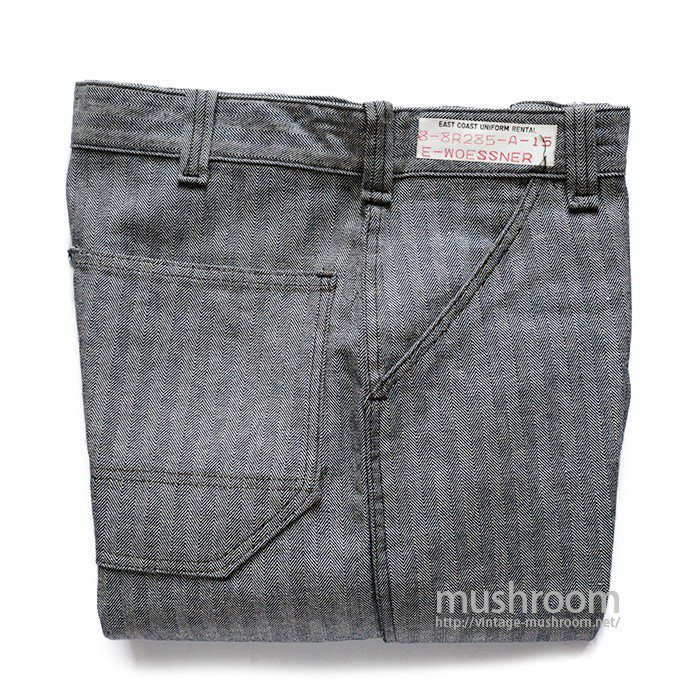 OLD HBT WORK TROUSERS( MINT )