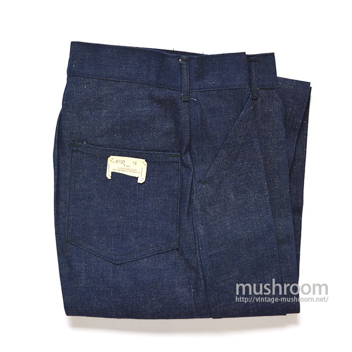 WW2 U.S.NAVY TYPE DENIM TROUSER( DEADSTOCK )