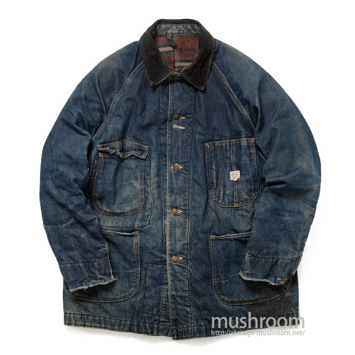 PAY DAY DENIM COVERALL WITH BLANKET