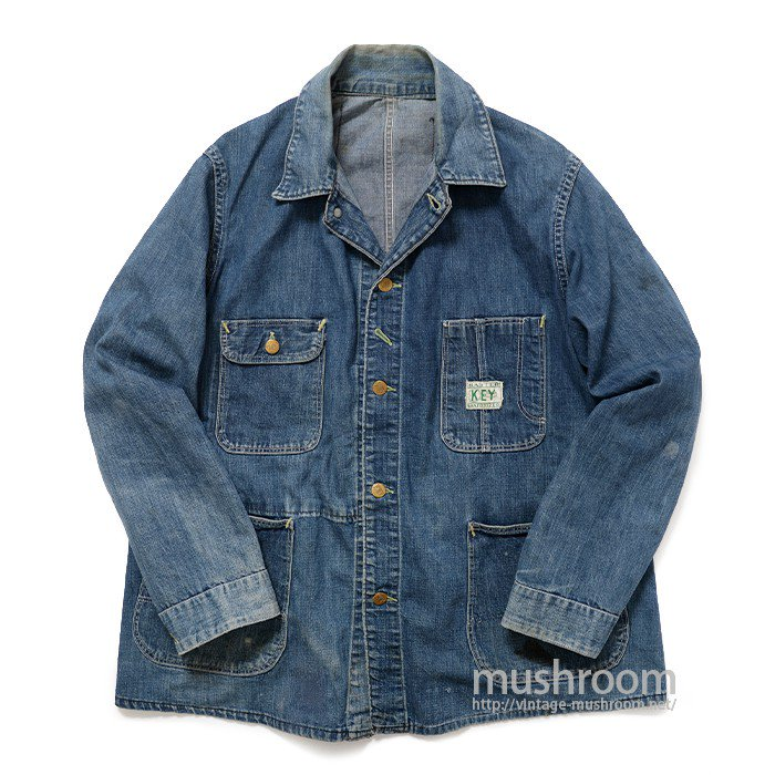 KEY DENIM COVERALL