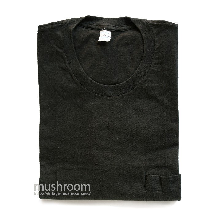 JOCKY BLACK COTTON POCKET T-SHIRT( XXL/MINT )