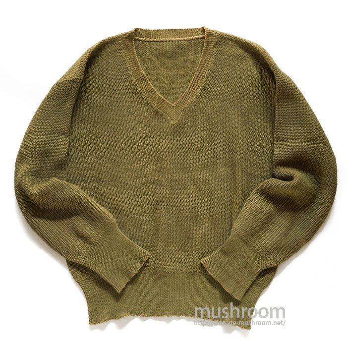 WW1-WW2 AMERICAN RED CROSS V-NECK SWEATER