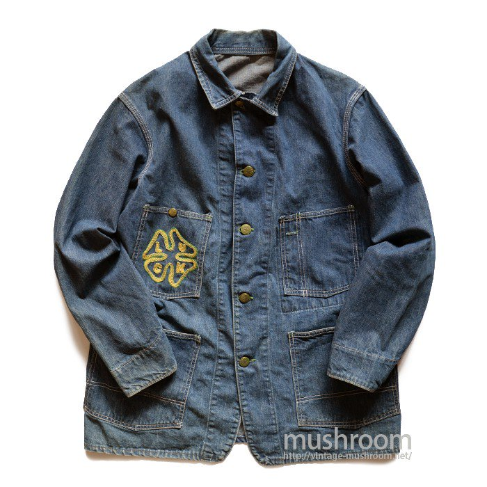 OSHKOSH DENIM COVERALL WITH EMBROIDERY