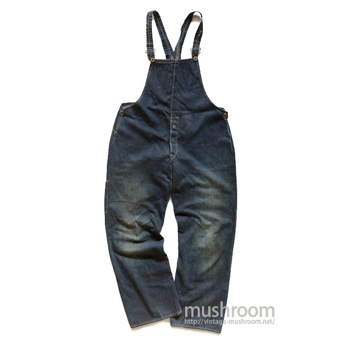 OLD DENIM OVERALLS