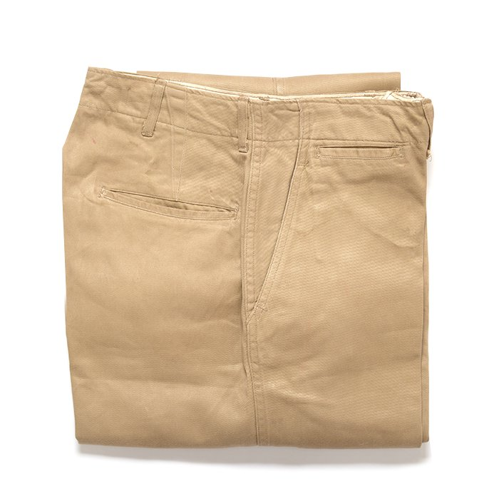 WW2 U.S.ARMY CHINO TROUSERS( W30L31 )