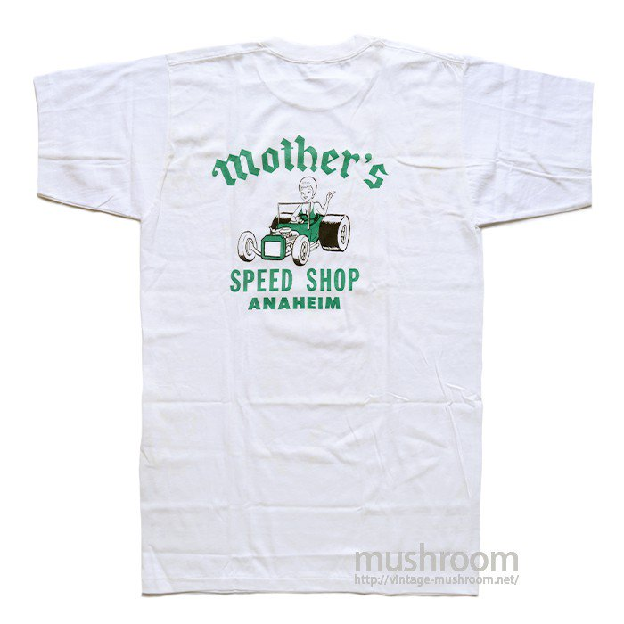 MOTHER'S SPEED SHOP T-SHIRT( XL/DEADSTOCK )