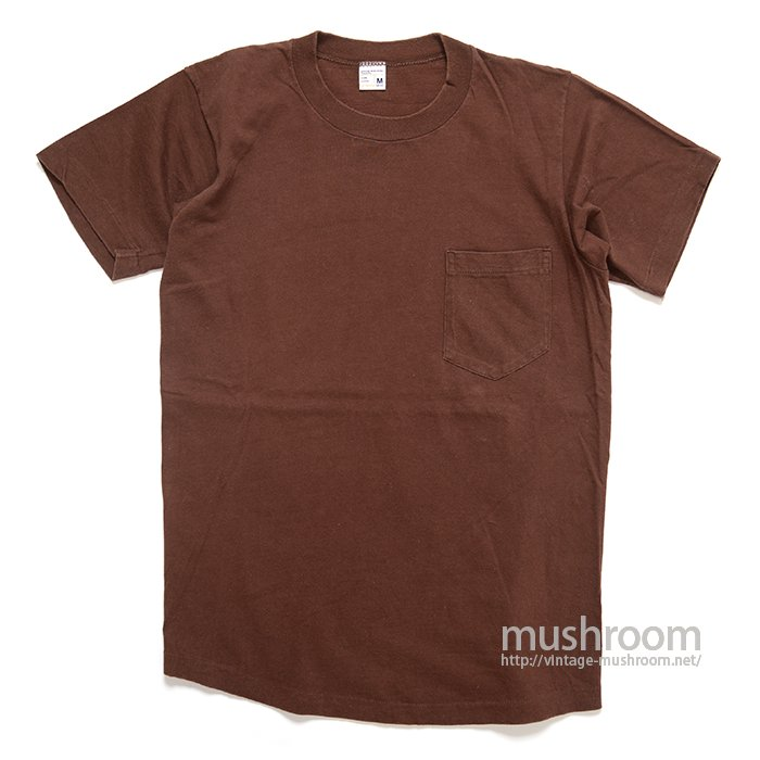 TOWNCRAFT COTTON POCKET T-SHIRT