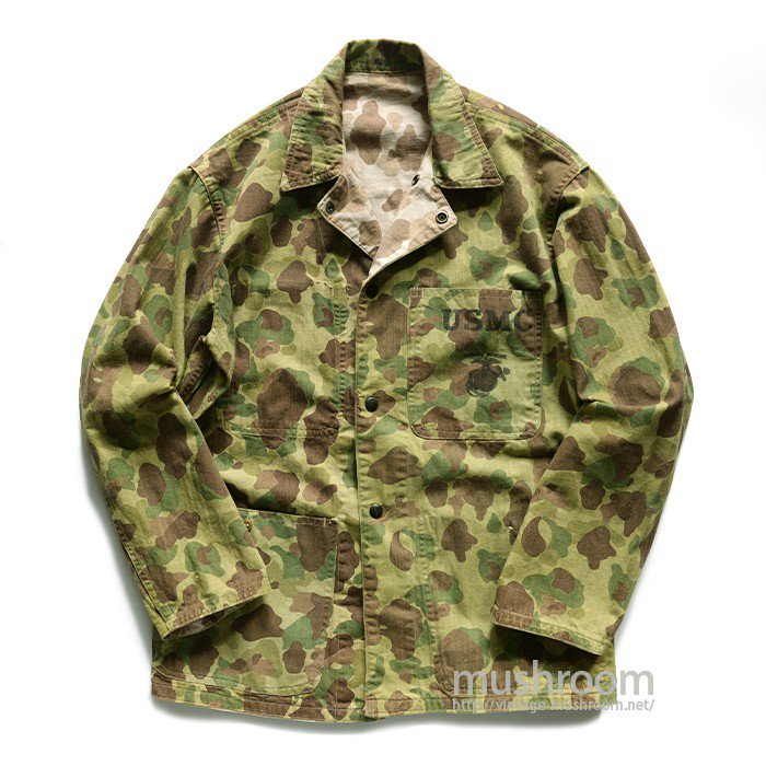 USMC P-42 DUCKHUNTER-CAMO HBT JACKET