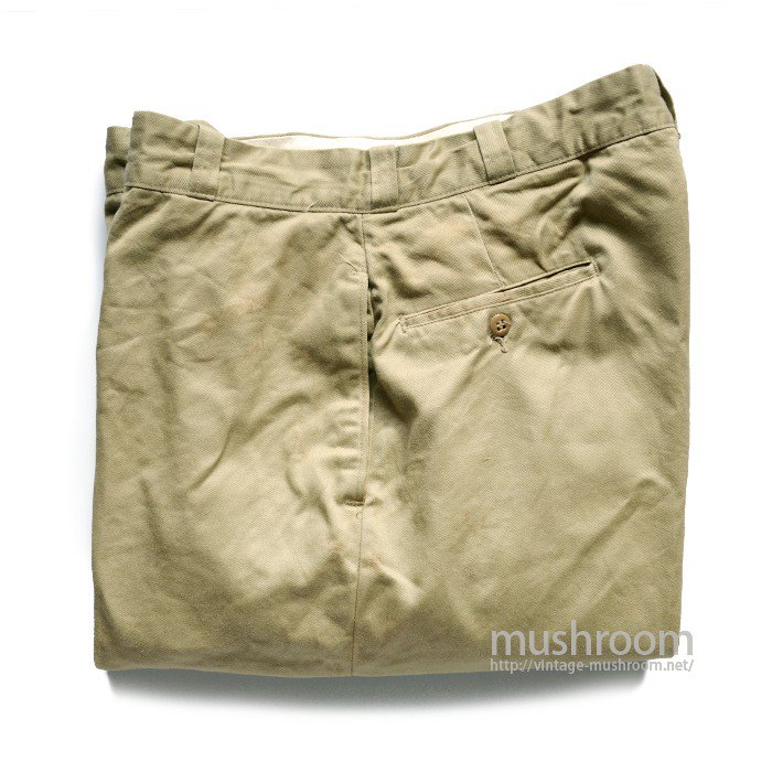 U.S.ARMY CHINO TROUSER( W34/L31/MINT )