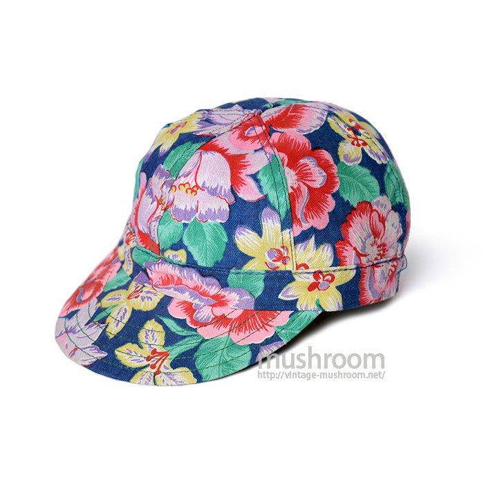 KROMER FLOWER PRINT CAP( 7 1/4/DEADSTOCK )