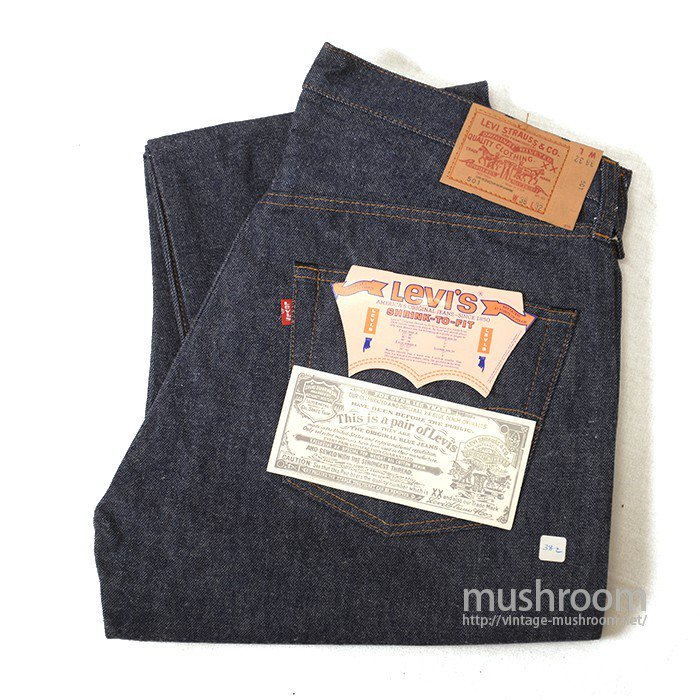LEVI'S 501 RED LINE JEANS( W38/L32/DEADSTOCK )