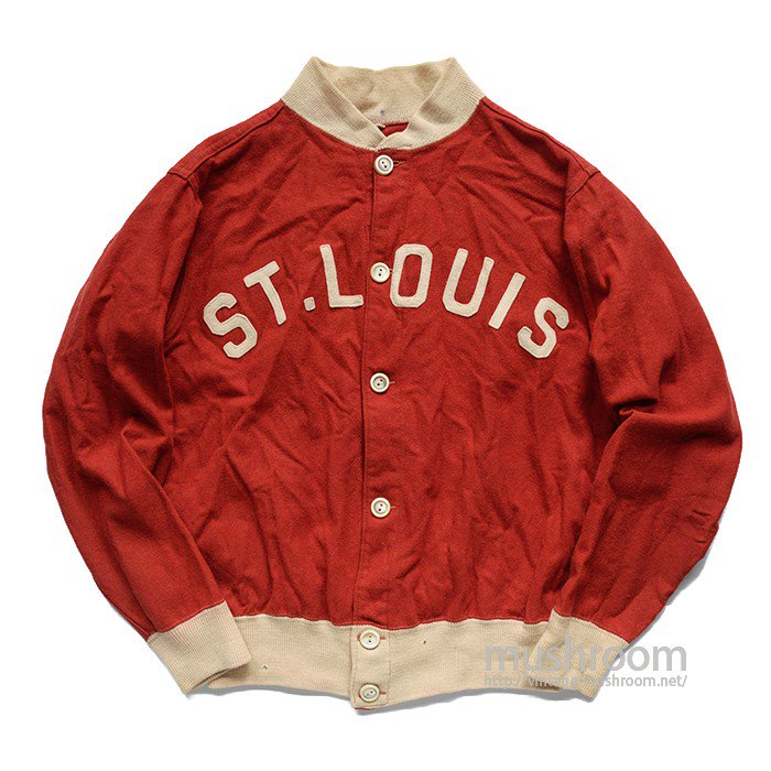 ST.LUOIS BOMBERS TWO-TONE WOOL SPORTS JACKET