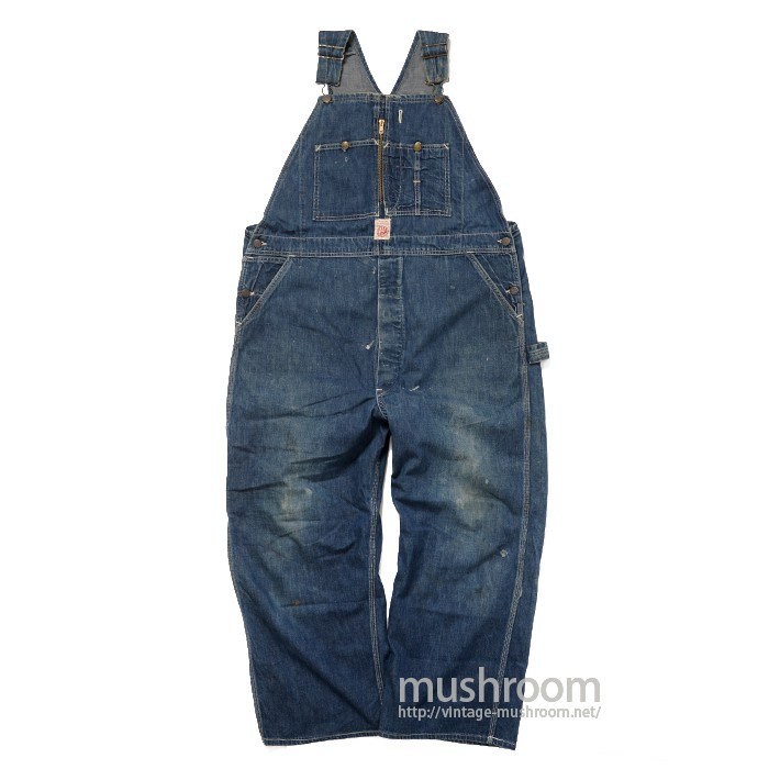 HEAD LIGHT DENIM OVERALL