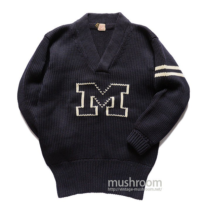 OLD LETTERMAN SWEATER