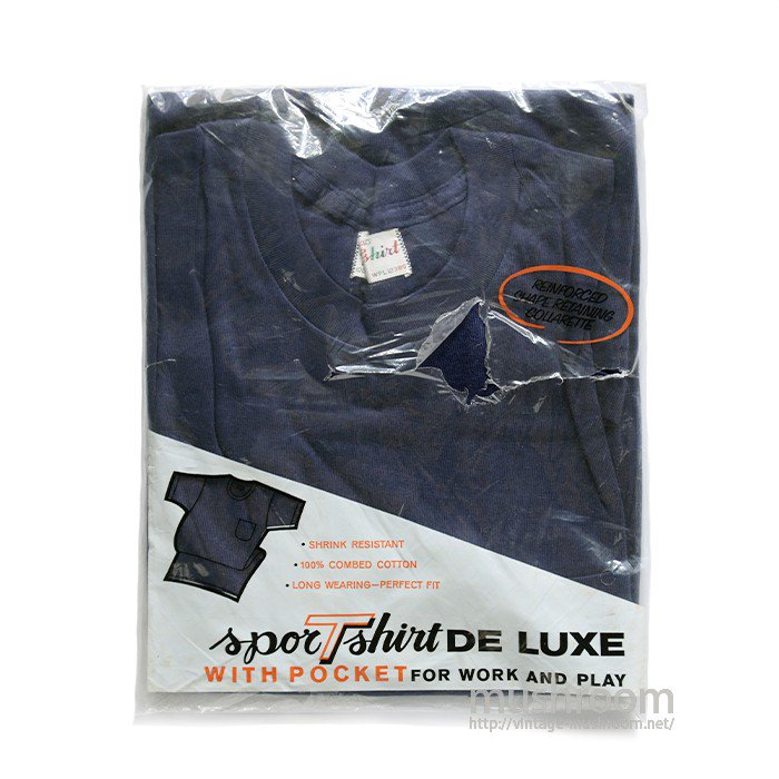 SPORTS T-SHIRT WITH POCKET( 40/DEADSTOCK )