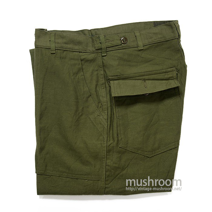 U.S.MILITARY UTILITY COTTON TROUSER( M/DEADSTOCK )
