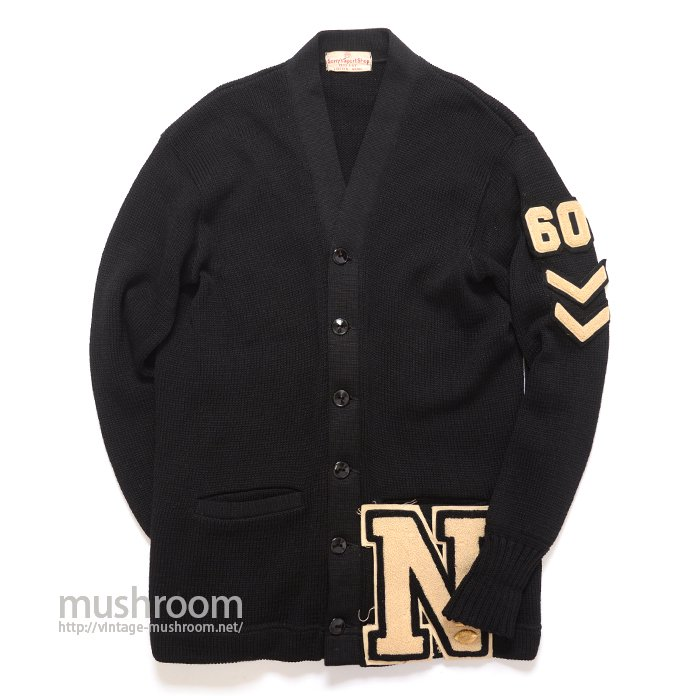 OLD COLLEGE LETTERMAN CARDIGAN