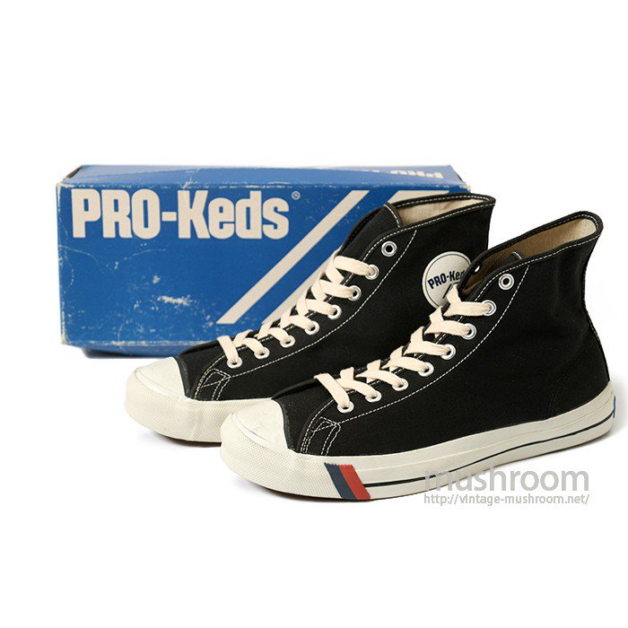 PRO-KEDS DUDE Hi-CUT CANVAS SHOES( 11/DEADSTOCK )