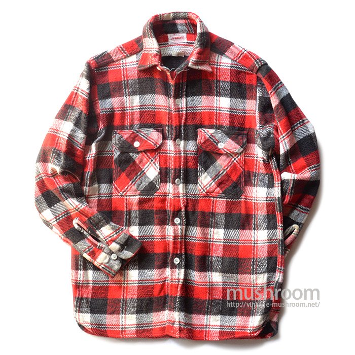 BRENT PLAID FLANNEL SHIRT