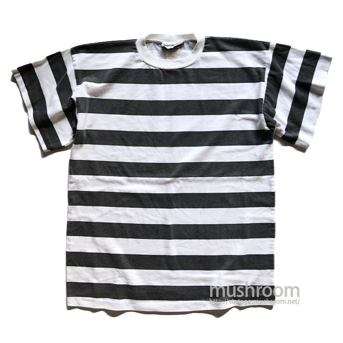 OLD STRIPE T-SHIRT( BLACK&WHITE )
