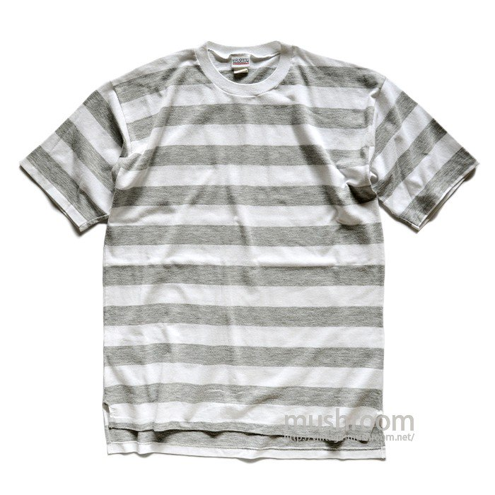 OLD STRIPE T-SHIRT( GRAY&WHITE )