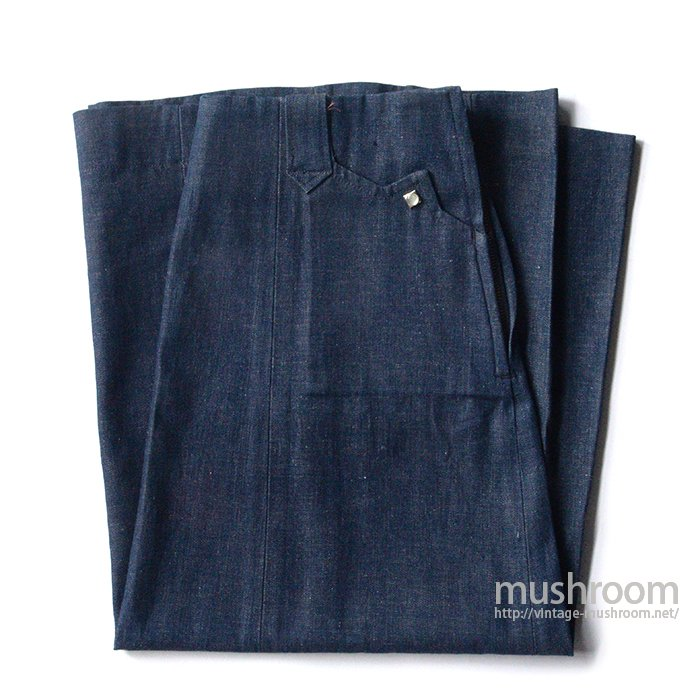 LEVI'S SHORTHORN DENIM SKIRT( DEADSTOCK )