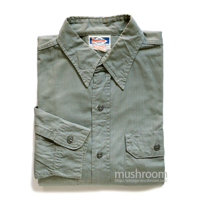 HARVESTER HBT WORK SHIRT( 16/MINT )