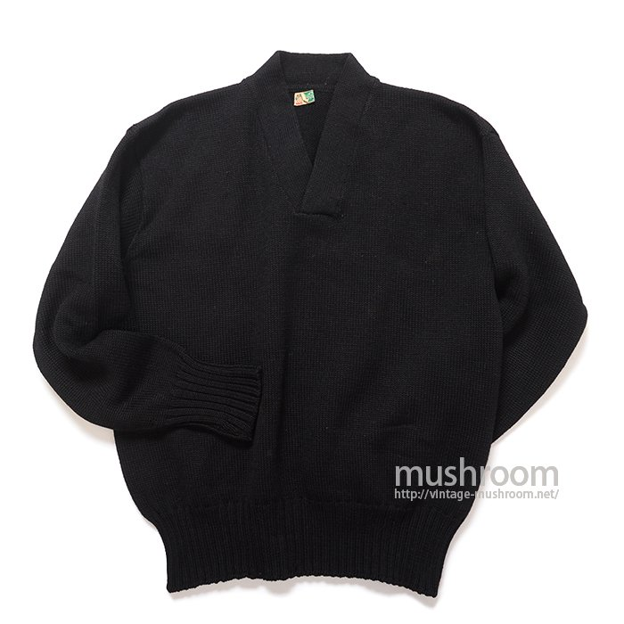 OLD BLACK A-1 STYLE SWEATER