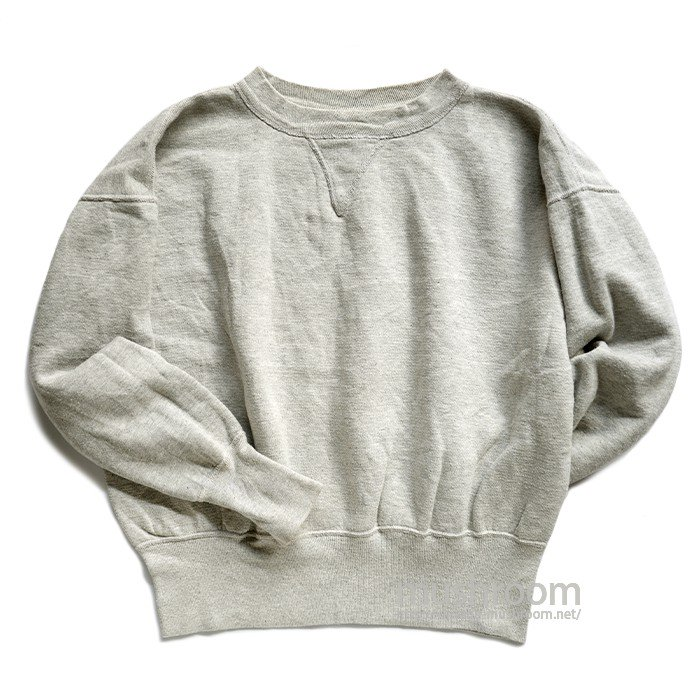 FLAGG SINGLE-V SWEAT SHIRT( L/ONE-WASHED )